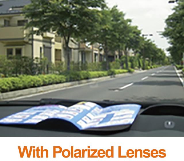 with Polarized Lenses